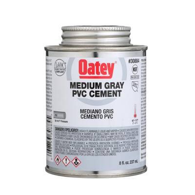 8 oz. Medium Gray PVC Cement