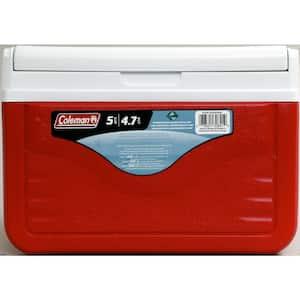 5 qt. FlipLid Chest Cooler with Molded Beverage Holders