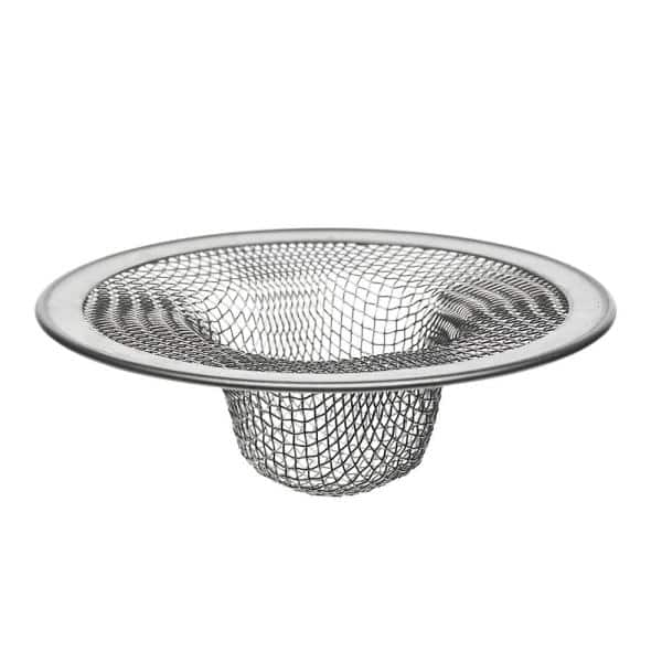 Danco 4 1 2 In Mesh Kitchen Sink Strainer In Stainless Steel 88822 The Home Depot