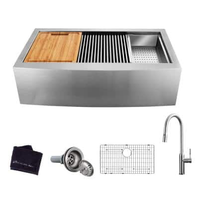 30 In Farmhouse Kitchen Sinks Kitchen Sinks The Home Depot