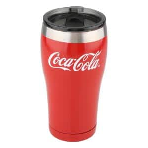 20 oz. Red Stainless Steel Tumbler (2-Pack)