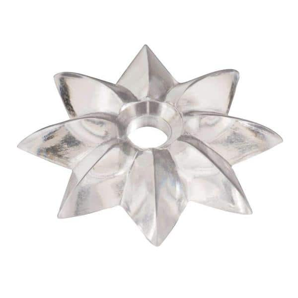 Clear Star Mirror Rosette, How To Install Mirror Rosettes