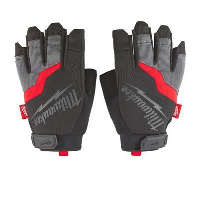 XX-Large Fingerless Work Gloves