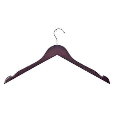 Cherry Wood Shirt Hangers (10-Pack)