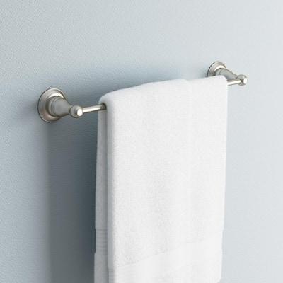 Porter 18 in. Towel Bar in Brushed Nickel