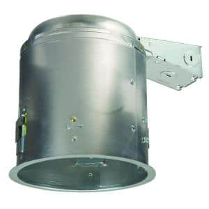 E26 6 in. Aluminum Recessed Lighting Housing for Remodel Ceiling, Insulation Contact, Air-Tite