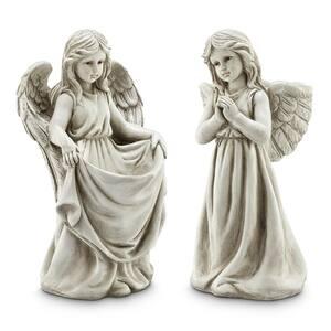 Cherub Angel Pair Garden Statue