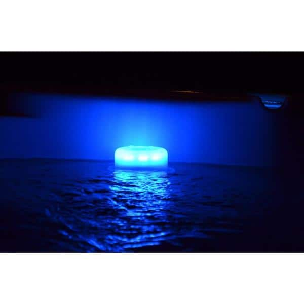Main Access Swimming Pool Ladder Step Color Led Smart Light With Remote 200680r The Home Depot
