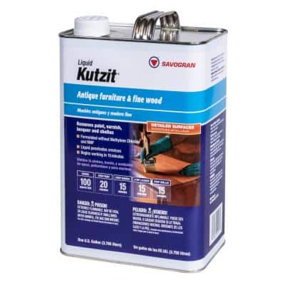 Kutzit 1G Liquid All Purpose Stripper without Methylene Chloride and NMP