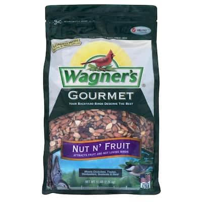 Gourmet 5 lb. Nut N Fruit Wild Bird Food