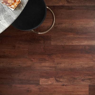 Revive 12mil 6.3 in. W x 48.4 in. L Oregon Maple Waterproof Glue Down Luxury Vinyl Tile Flooring (42.37 Sq. Ft. / Case)