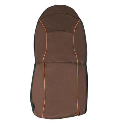 Brown Open Road Mess-Free Single Seated Safety Car Seat Cover