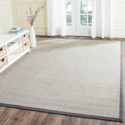 Natural Fiber Marble/Grey 10 ft. x 14 ft. Indoor Area Rug