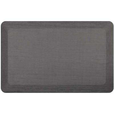 Comfort Zone Gray 20 in. x 32 in. Commercial Door Mat