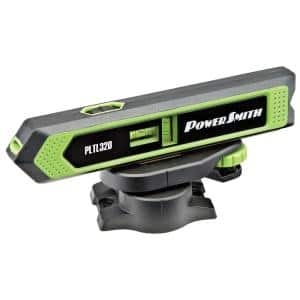 Torpedo Laser Level and Pointer with Magnetic Back, Mounting Base, 360° Rotation and Batteries