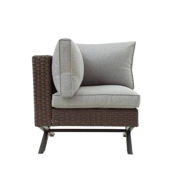 Patio Festival X Leg 10 Piece Wicker Patio Conversation Sectional Seating Set With Gray Cushions Pf20143 205 714x3 715x2 716x3 The Home Depot