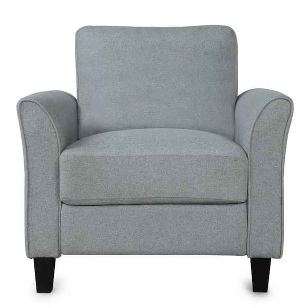 Boyel Living Gray Room Furniture, Single Living Room Chairs