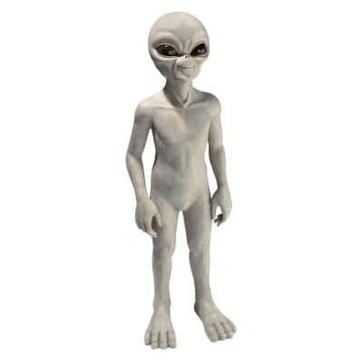 34 in. H The Out of this World Alien Extra Terrestrial Large Statue
