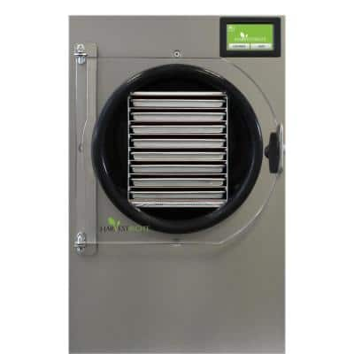 8-Tray Large Stainless Steel Pharmaceutical Freeze Dryer
