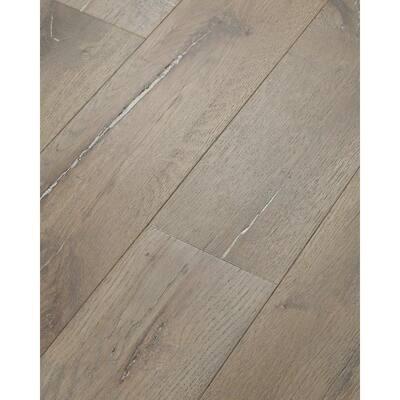 Boardwalk Gravel 1/2 in. T x 7 in. W x Varying Length Water Resistant Engineered Hardwood Flooring (23.58 sq. ft.)