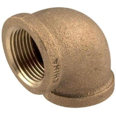 3/4 in. FIP 90-Degree Brass Elbow Fitting