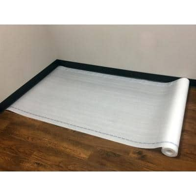 100 sq. ft. 3 ft. 4 in. x 30 ft. x 0.08 in. Standard Foam Underlayment w/Moisture Protection and Compression Resistance