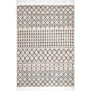 Tricia Moroccan Ivory 5 ft. x 8 ft. Area Rug