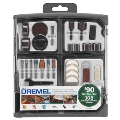 Rotary Tool All-Purpose Accessory Kit (108-Piece)