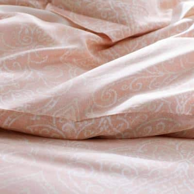 Grand Paisley 300-Thread Count TENCEL™ Lyocell Sateen Fitted Sheet