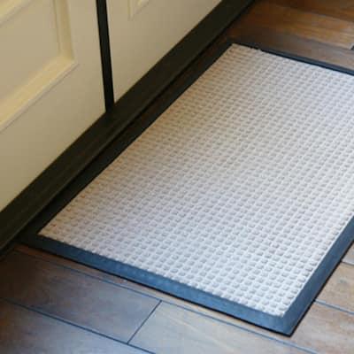 Nottingham Gray 36 in. x 60 in. Rubber Backed Carpet Mat
