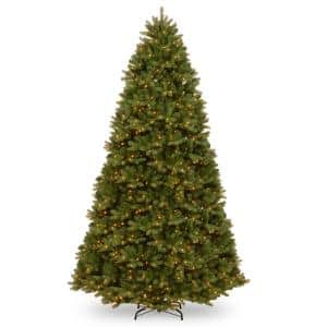 9 ft. Feel Real Newberry Spruce Hinged Tree with 1200 Dual Color LED Lights and PowerConnect
