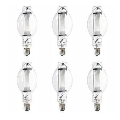 1000-Watt BT37 HID Quartz Metal Halide Switch Start Light Bulb (6-Pack)