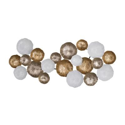Ryder Gold/White Large Wall Accent