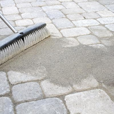 40 lbs. Gray Paving Stone Joint Sand Joint Stabilizing Sand for Pavers, Brick, Concrete Blocks & Patio Stones