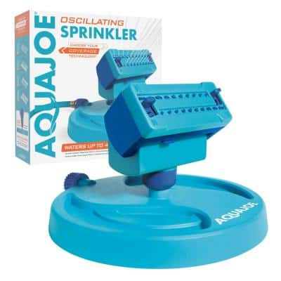 20-Nozzle Max Coverage Adjustable Gear Driven Oscillating Sprinkler on Sled Base