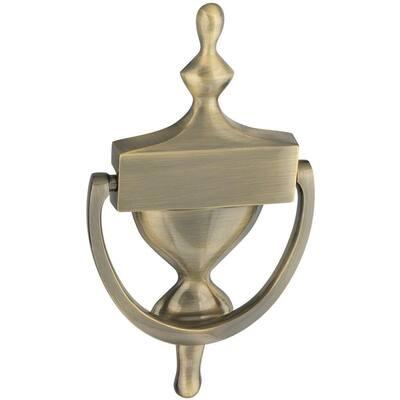 7 in. Antique Brass Door Knocker