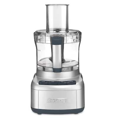 Elemental 8-Cup 3-Speed Silver Food Processor