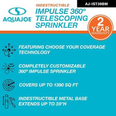 360° Indestructible Brass Impulse Sprinkler