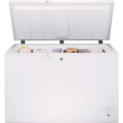 Garage Ready 10.6 cu. ft. Chest Freezer in White, ENERGY STAR
