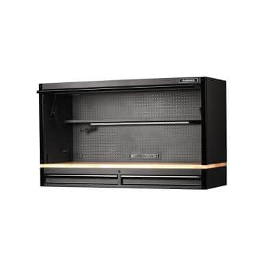 61 in. 2-Drawer Heavy-Duty Hutch with Riser