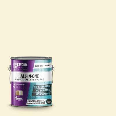 1 gal. Off White Furniture, Cabinets, Countertops and More Multi-Surface All-in-One Interior/Exterior Refinishing Paint