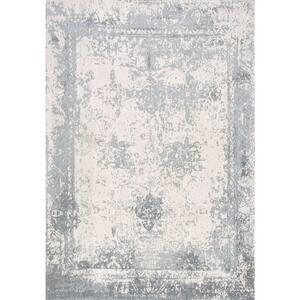 Shawanna Vintage Slate Blue 9 ft. x 12 ft. Area Rug