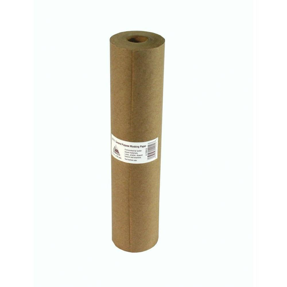 TRIMACO Easy Mask 12 in. x 180 ft. Brown General Purpose Masking Paper
