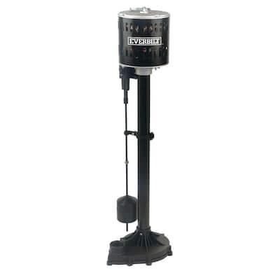 1/3 HP Plastic Pedestal Sump Pump