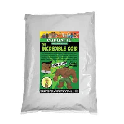 1 cu. ft. Fluffed and Ready To Use Incredible Coir