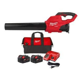 M18 FUEL 120 MPH 450 CFM 18-Volt Brushless Cordless Handheld Blower with Two 5.0 Ah Batteries, Charger and Bag