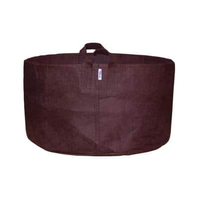 45 Gal. Brown Breathable Boxer Fabric Planting Containers and Pots with Handles Planter