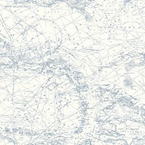 Charts Navy Map Blue Wallpaper Sample