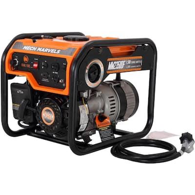 1,500-Watt/1,200-Watt Recoil Start Dual Fuel Propane or Gasoline Portable Power Generator