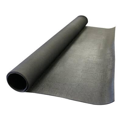 Super-Grip Scraper 48 in. W x 240 in. L Rubber Mat
